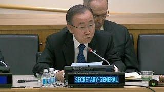 Ban Ki Moon dismisses Netanyahu