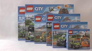 NOWOŚCI CZERWIEC 2016 LEGO CITY WULKAN