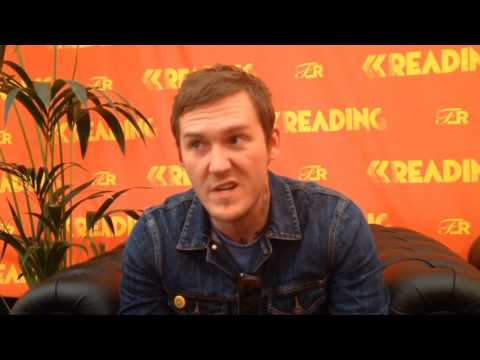 Brain Fallon Interview // Reading Festival 2016 (The Gaslight Anthem, Painkillers, Songwriting)