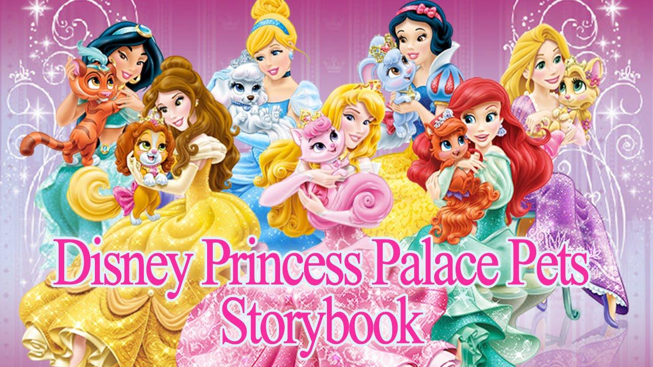 All Disney Princess Palace Pets Storybook Compilation NEW ...