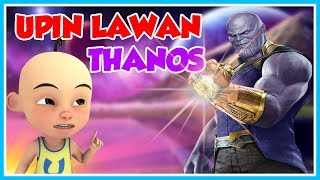 UPIN AGAINST THANOS!! ROBLOX UPIN IPIN