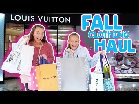 No Budget Fall Shopping SPREE! Its R Lfe