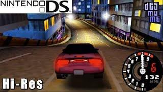 Need for Speed: Underground 2 - Nintendo DS Gameplay High Resolution (DeSmuME)