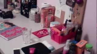Tour My Nail/craft/bed/office Room! Small But Mighty!