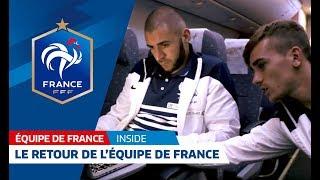 Rio 2 : le retour de l'Equipe de France (France-Allemagne)