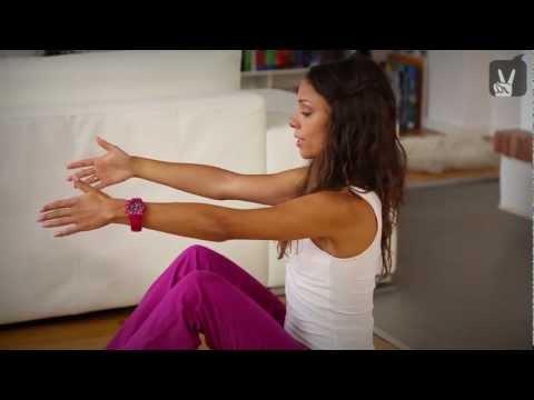 Pilates Anfänger Bauch Vollprogramm - 30 Minuten