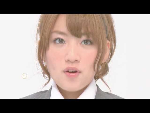AKB48 正しいポケットチーフ折り 1分勝負(高橋みなみ)