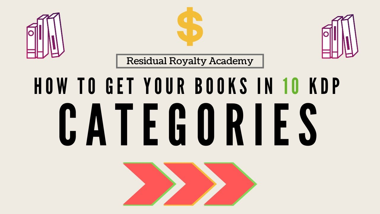 How To Add Up To 10 Amazon Book Categories To Your Low Or No Content Books Kdp Lcb Ncb Tutorial Youtube