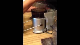 Assembling the Breville Juicer