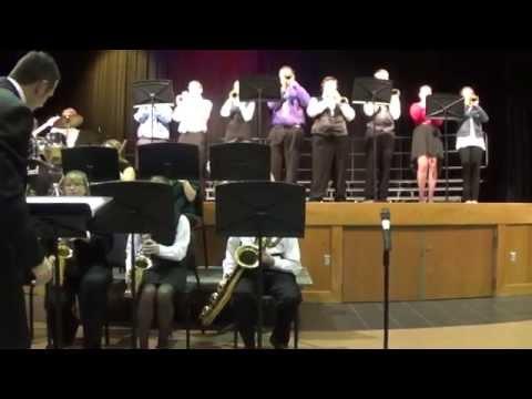 Jazz Band December 2014 Spencerville High School