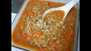 চকন নডলস সযপBangladeshi Chicken Noodle Soup RecipeHow to Cook yammy soup