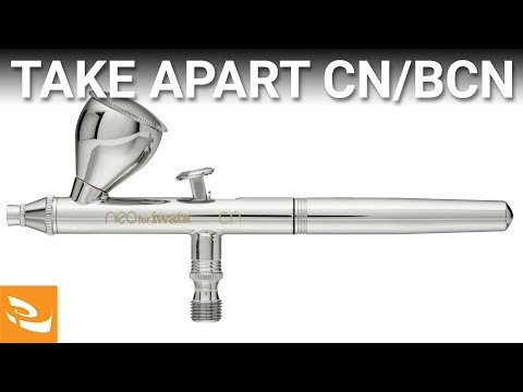 How to Disassemble and Reassemble Neo CN/BCN Airbrush