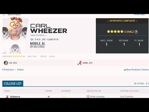 Five Star Recruit (The ULTIMATE Player Career)