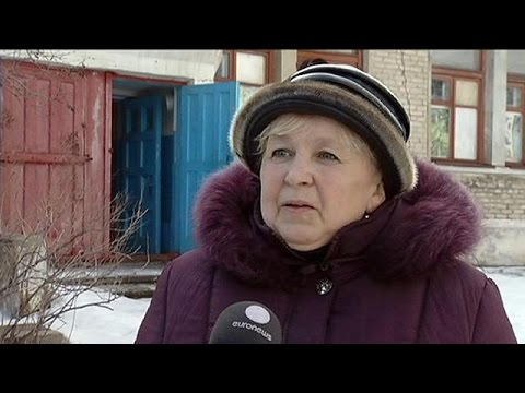 Ukraine: Life in the village of Zolotoe 3 in the Luhansk region