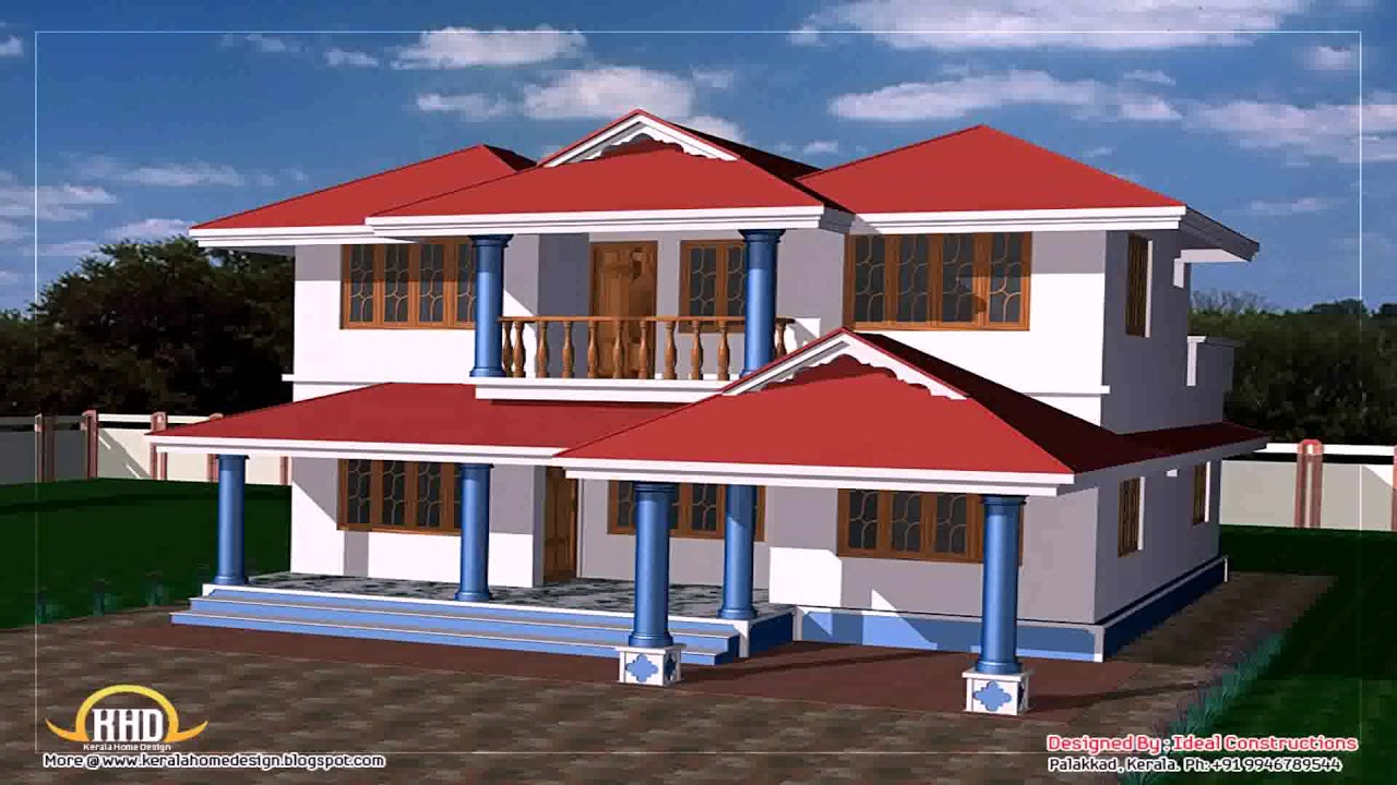 2000 sq ft indian house design youtube for Indian house plans for 2000 sq ft