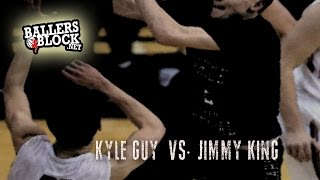 Virginia-bound Kyle Guy (#47 ESPN Top 60) vs. Jimmy King