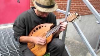 Marc Roy on Rays Rootworks Mandolin