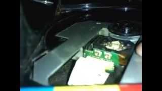 DVD player cd player no disc error