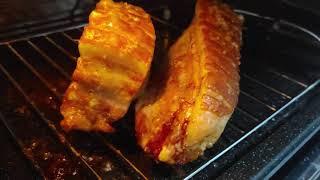통오겹살 팝콘껍질 ASMR - Pork Belly Ch…