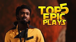HELLO, WHAT HAVE WE HERE? - Battlefront 2 Top 5 Plays