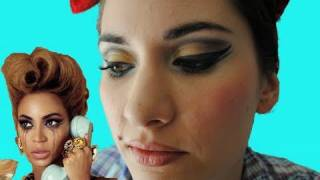 Beyonce - Why Don't You Love Me - Makeup Tutorial - Aubrey London Pinup Thumbnail
