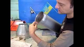 Труба из 321 - ой нержавеющей стали толщиной 0.8 мм.(Мой сайт - http://metalblesk.etov.ua/about Моя почта - metalblesk74@gmail.com., 2016-09-13T10:31:12.000Z)