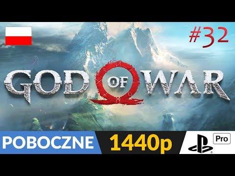 GOD OF WAR PL (2018) ⭐️ LIVE - Tylko poboczne 🔴 Bracia i smoki? :) [START 21:45]