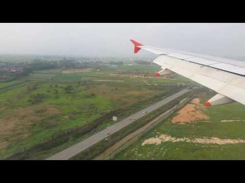 Landing in Hanoi Noi Bai Airport (23/03/2017)