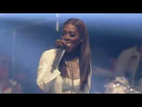 Download Tiwa Savage and Wizkid's Full Performance At The Interswitch One Africa Music Fest Dubai 2019