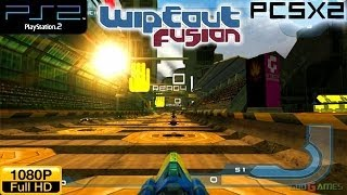 Wipeout Fusion - PS2 Gameplay 1080p (PCSX2)
