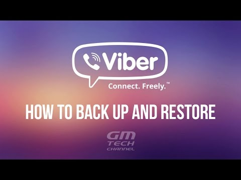 How to Back up and Restore Viber Message History