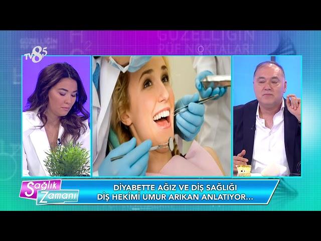 TV8 - Diyabet hastalarına implant yapılır mı?