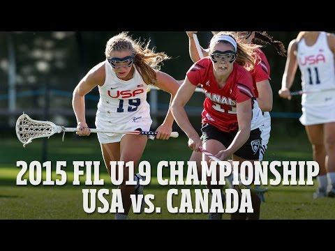 FIL Women's U19 Championship Highlights: Team USA vs Canada