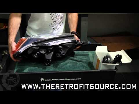 TRS Tips: Baking and Opening Headlight Assemblies (sealed with Butyl Rubber)