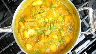 Curry Beef With Potato  - How To Stretch Ingredients To Feed More People.