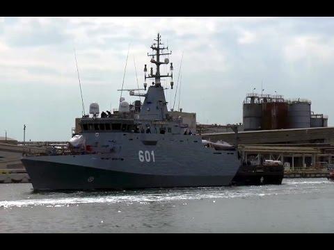 ORP Kormoran na próbach morskich