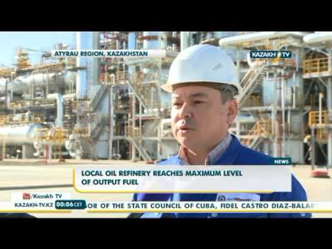 Atyrau oil refinery reaches maximum level of output fuel - Kazakh TV