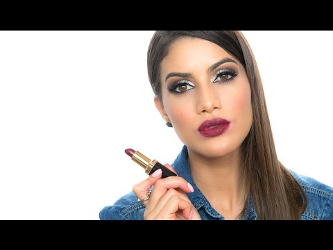 Top 5 Lipsticks in Burgundy and Purple | Makeup Tutorials and Beauty Reviews | Camila Coelho thumbnail