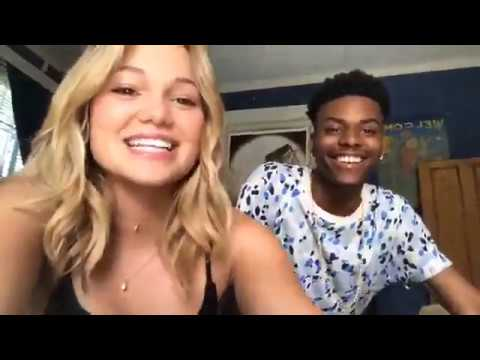 Live Chat with Olivia Holt and Aubrey Joseph from Marvel's Cloak & Dagger