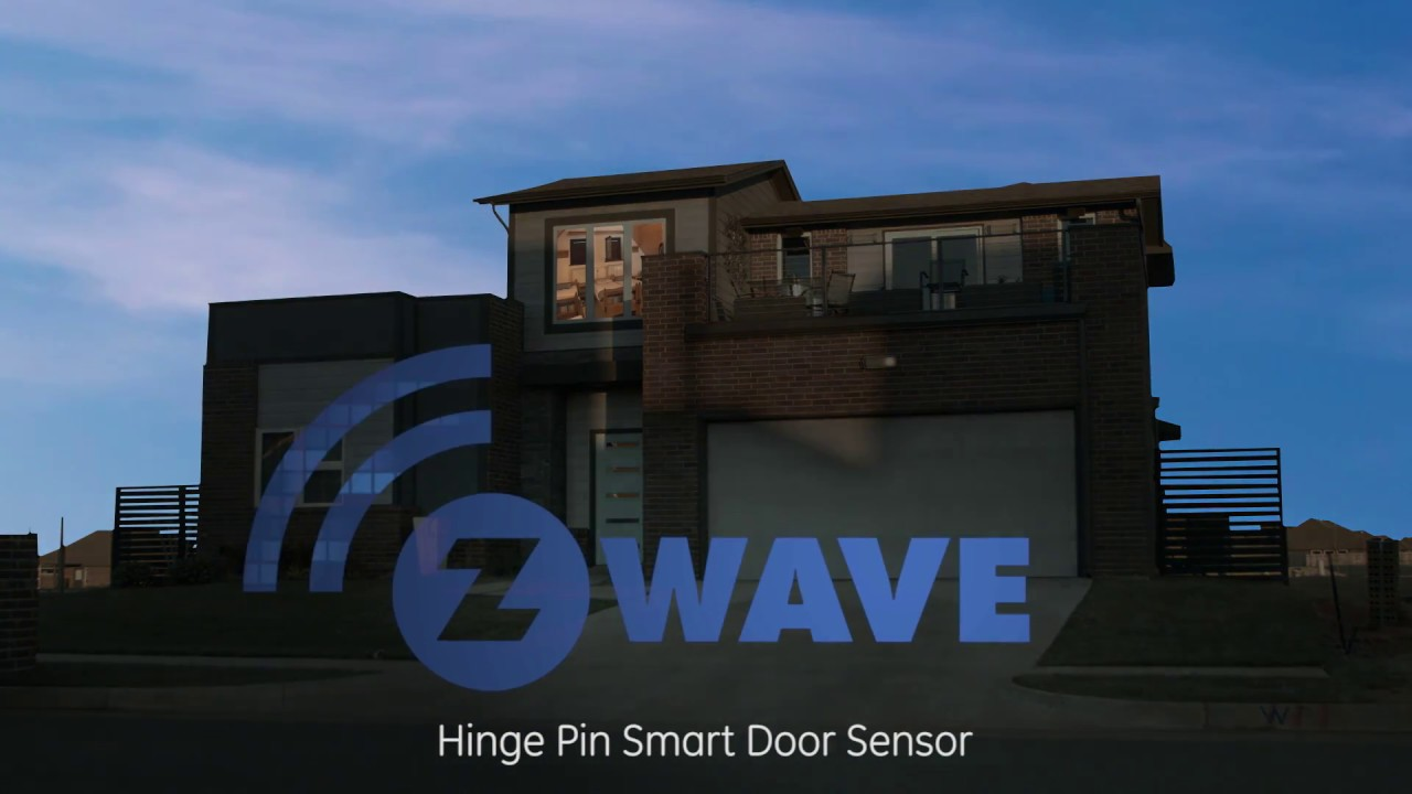 GE Z-Wave Plus Hinge Pin Smart Door Sensor