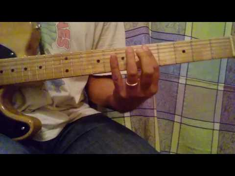 How To Play Rock And a Hard Place guitar lesson - Rolling Stones