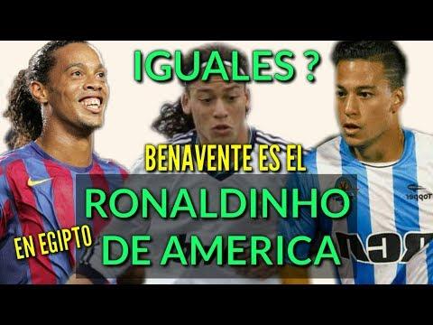 Egipto insiste en Llamar Ronaldinho a Benavente Por qué?