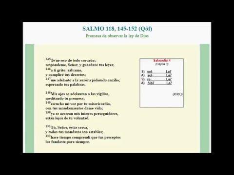 Salmodia Camino Neocatecumenal 4
