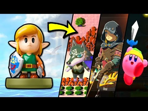 What does the Link's Awakening Amiibo do in EVERY Game? (2014 - 2019)