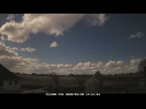 20th March 2020 timelapse, Irlam: Spring Equinox