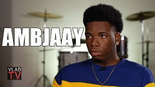 Ambjaay on People Saying He Raps Like Blueface: Every LA Rapper Gets That (Part 4)