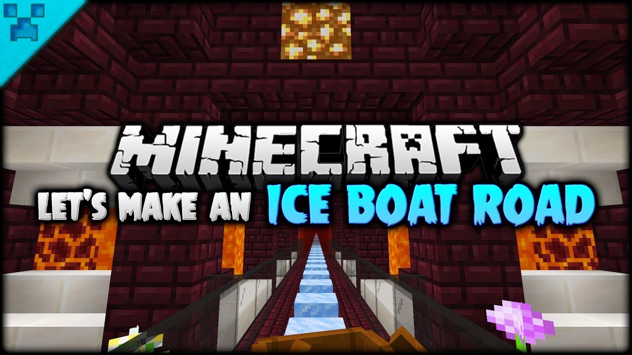 Let S Make An Ice Boat Road Python S World Live Minecraft Survival Let S Play S3 1 14 Youtube Blue ice is a block added by vanilla minecraft that generates naturally in icebergs. let s make an ice boat road python s