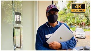 എന്റെ Macbook complaint ആയി 😟| service ചെയ്യാൻ കോഴിക്കോട്ടേക്ക്😍...