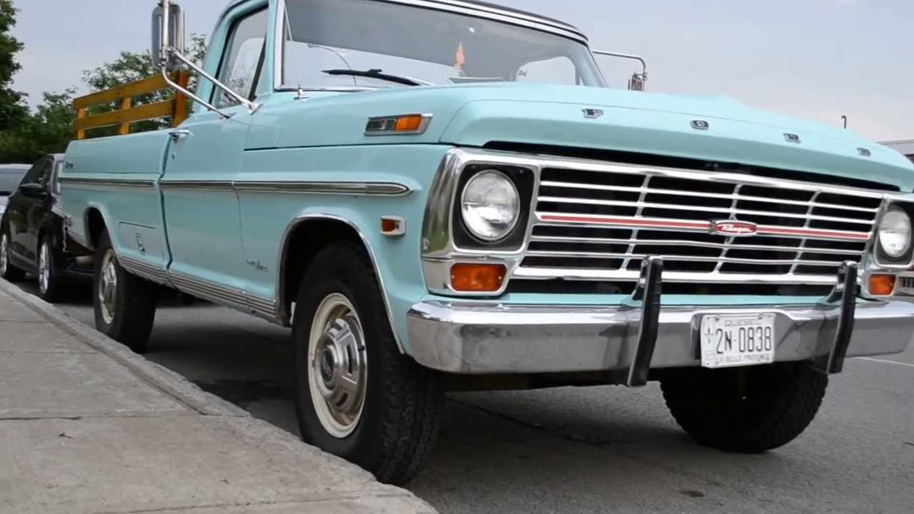 1969 FORD RANGER CAMPER SPECIAL PICK UP SIGHTING - YouTube