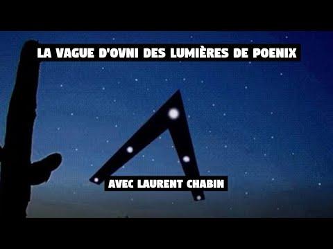Laurent Chabin - Vague d'OVNI: les lumières de Phoenix en 1997